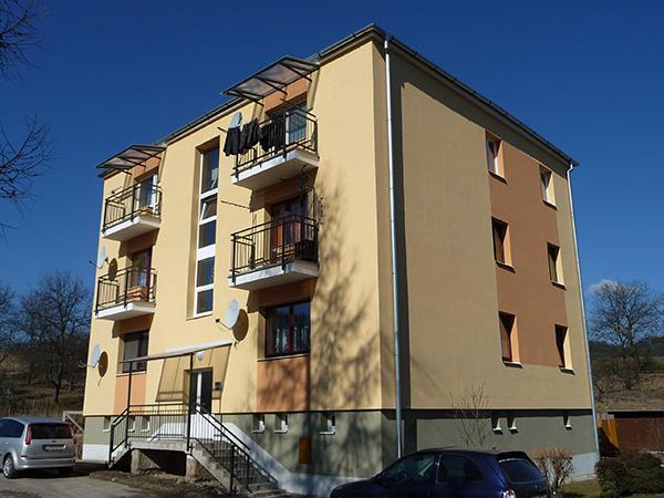Zateplenie bytového domu – Buková 14, Banská Bystrica