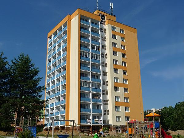 Zateplenie bytového domu – Spojová 10, Banská Bystrica