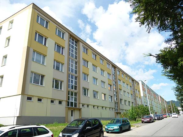 Zateplenie bytového domu – Spojová 1-5, Banská Bystrica