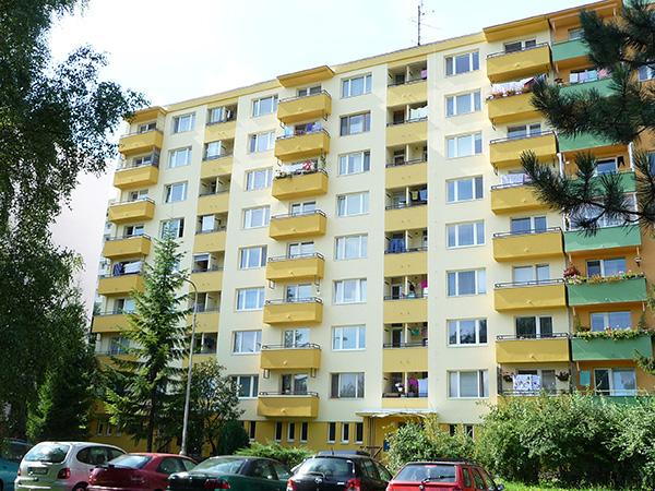 Zateplenie bytového domu – THK 11-12, Banská Bystrica