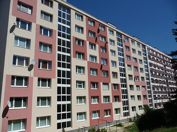Zateplenie bytového domu – THK 6-10, Banská Bystrica